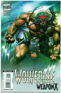 Wolverine Weapon X #1 Variant Cover