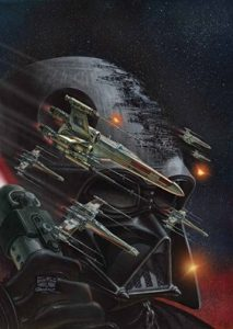 Darth Vader Comic Cover