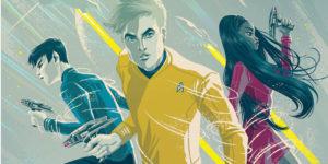 STAR TREK: BOLDLY GO #1 Comic Book Cover