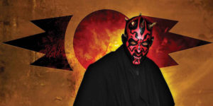 DARTH MAUL #1 Comic Book Movie Variant Cover