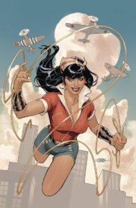 BOMBSHELLS UNITED #1 Comic Book Cover