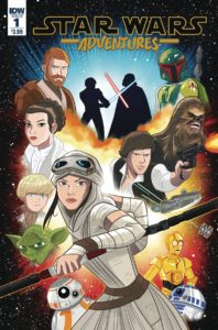 STAR WARS ADVENTURES #1 Comic Book Cover