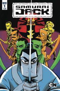 SAMURAI JACK QUANTUM JACK #1 Comic Book Cover