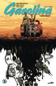 GASOLINA #1 Comic Book Cover