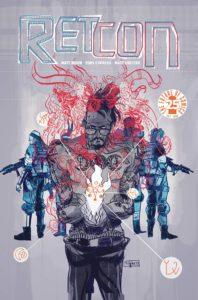 RETCON #1 Comic Book Cover