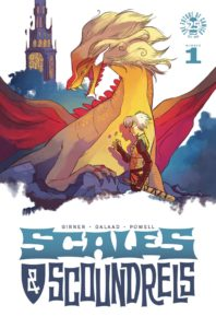 SCALES & SCOUNDRELS #1 Comic Book Cover