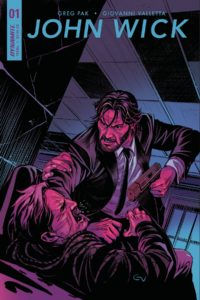 JOHN WICK #1 Comic book Cover