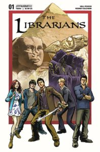 LIBRARIANS #1 Comic Book Cover