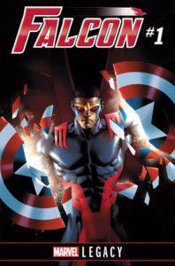 FALCON #1 LEGACY Comic Book Cover
