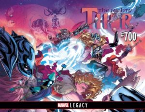 MIGHTY THOR [2017] #700 Comic Book Cover