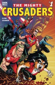 MIGHTY CRUSADERS [2017] #1 Comic Book Cover