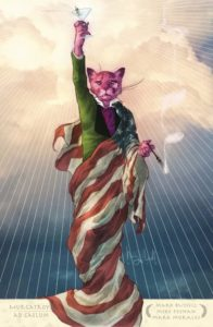EXIT STAGE LEFT: THE SNAGGLEPUSS CHRONICLES [2018] #1