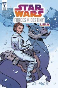 STAR WARS ADVENTURES: FORCES OF DESTINY--PRINCESS LEIA [2018]