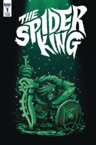 SPIDER KING [2018] #1 Comic Book Cover
