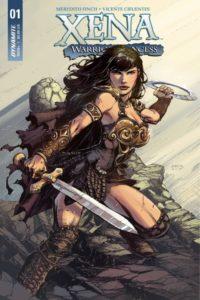 XENA [2018] #1 Comic Book Cover