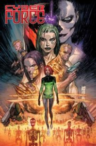 CYBER FORCE [2018] #1 Comic Book Cover
