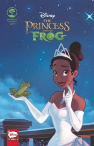 DISNEY THE PRINCESS AND THE FROG Comic Book Cover