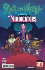 RICK AND MORTY PRESENTS: THE VINDICATORS [2018] #1