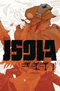 ISOLA [2018] #1 Comic Book Cover