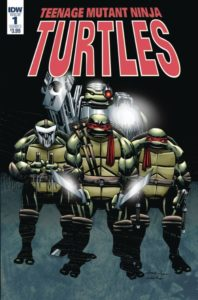 First Impression: TEENAGE MUTANT NINJA TURTLES: URBAN LEGENDS [2018] #1