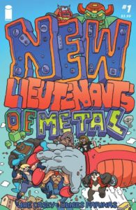 NEW LIEUTENANTS OF METAL [2018] #1