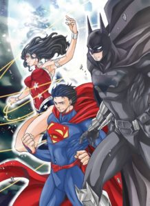 BATMAN AND THE JUSTICE LEAGUE MANGA [2018-DIG] VOL 01