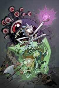 RICK AND MORTY VS. DUNGEONS AND DRAGONS [2018] #1
