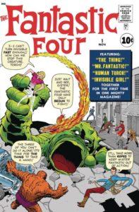 FANTASTIC FOUR [1961] #1 FACSIMILE EDITION (2018)
