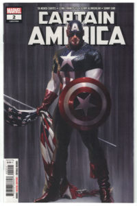 Captain America Comic Book Cover
