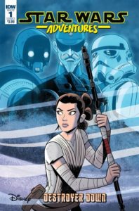 STAR WARS ADVENTURES: DESTROYER DOWN [2018] #1