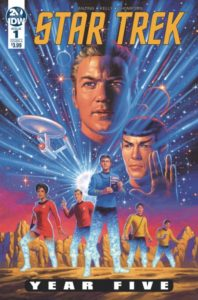 STAR TREK: YEAR FIVE [2019] #1
