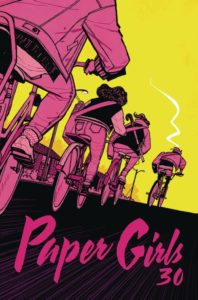 Paper Girls #1 Comic Book Cover