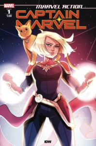 MARVEL ACTION: CAPTAIN MARVEL [2019] #1