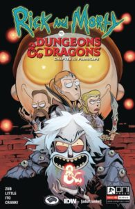 RICK AND MORTY VS. DUNGEONS AND DRAGONS II: PAINSCAPE [2019] #1