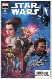 Star Wars #1 Comic Book Cover