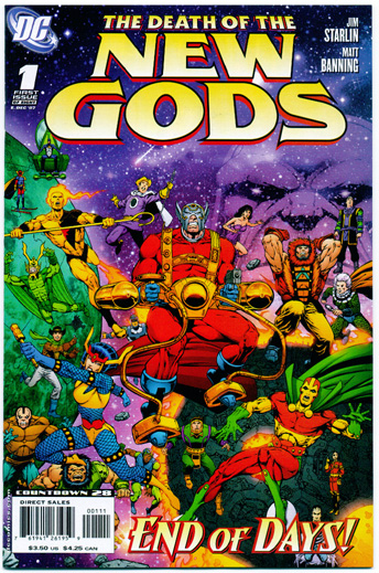 DEATH OF THE NEW GODS#1
