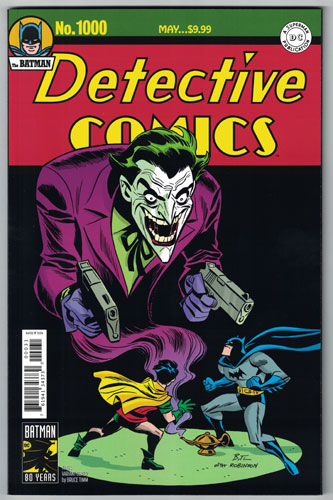 Detective Comics #1000 Timm 1940s Variant
