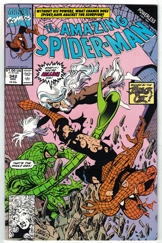 AMAZING SPIDER-MAN#342