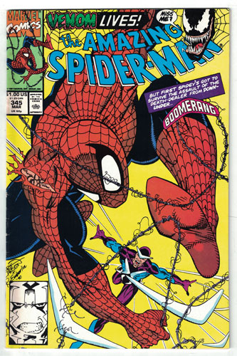 AMAZING SPIDER-MAN#345