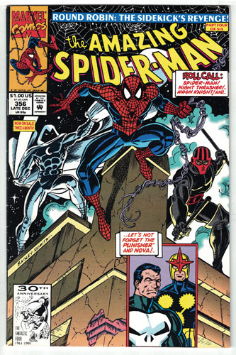 AMAZING SPIDER-MAN#356
