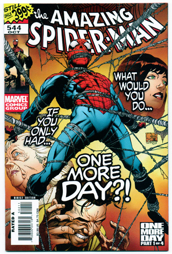 AMAZING SPIDER-MAN#544