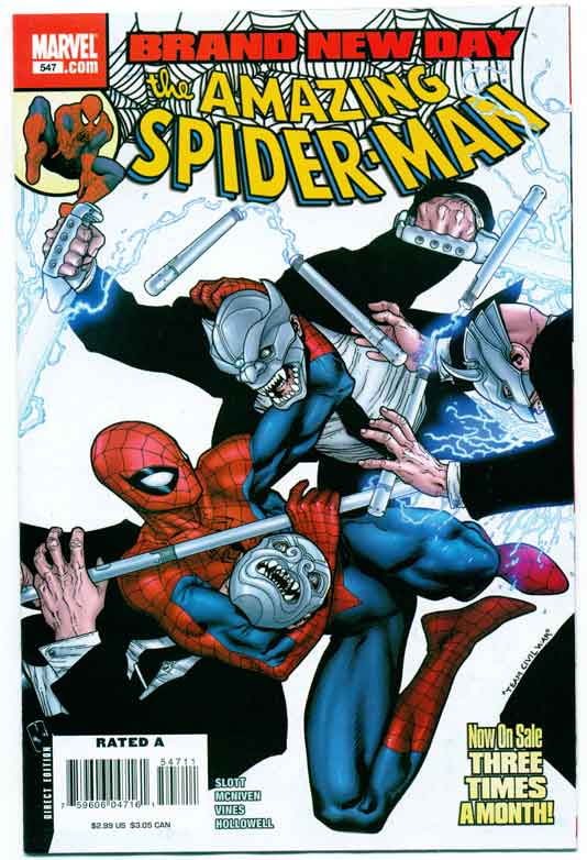 AMAZING SPIDER-MAN#547