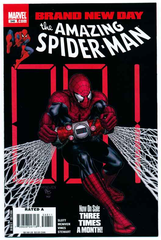 AMAZING SPIDER-MAN#548