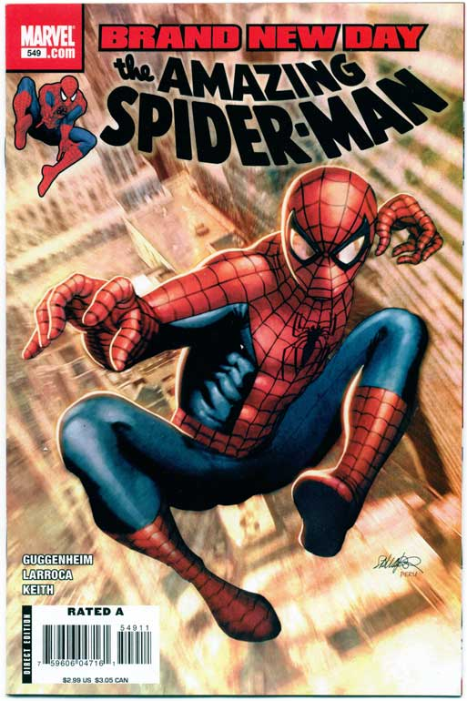 AMAZING SPIDER-MAN#549
