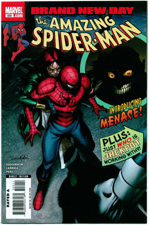 AMAZING SPIDER-MAN#550