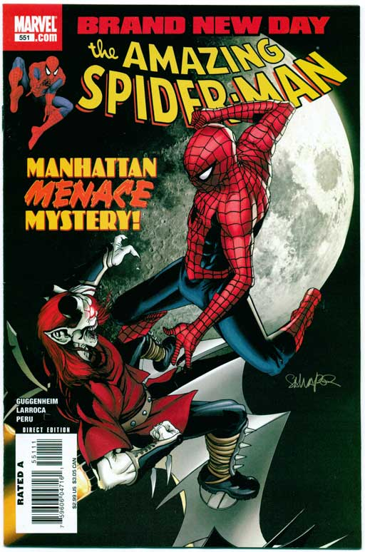 AMAZING SPIDER-MAN#551