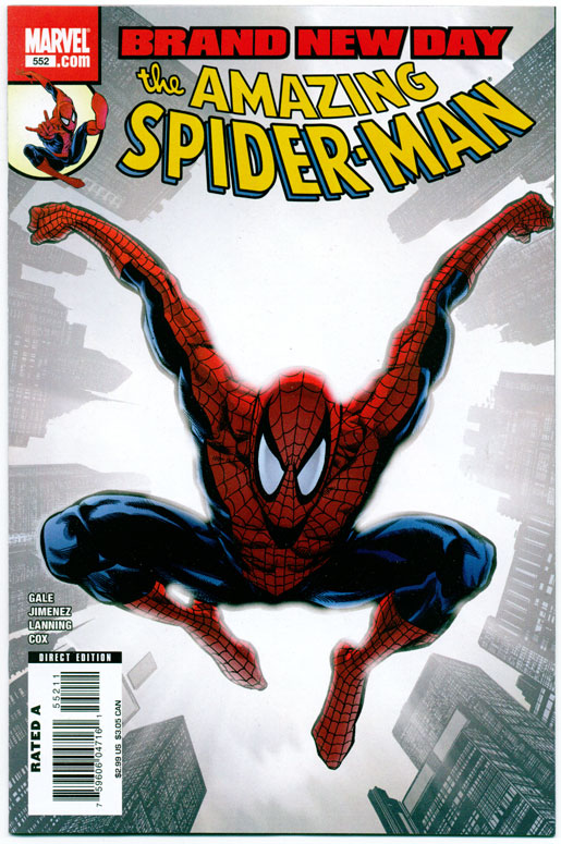 AMAZING SPIDER-MAN#552