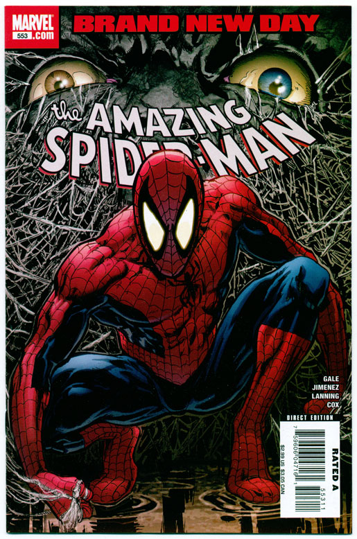 AMAZING SPIDER-MAN#553