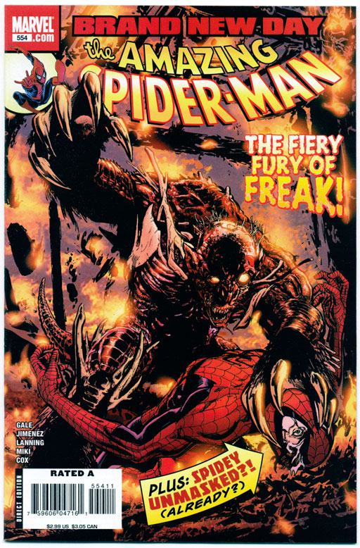 AMAZING SPIDER-MAN#554