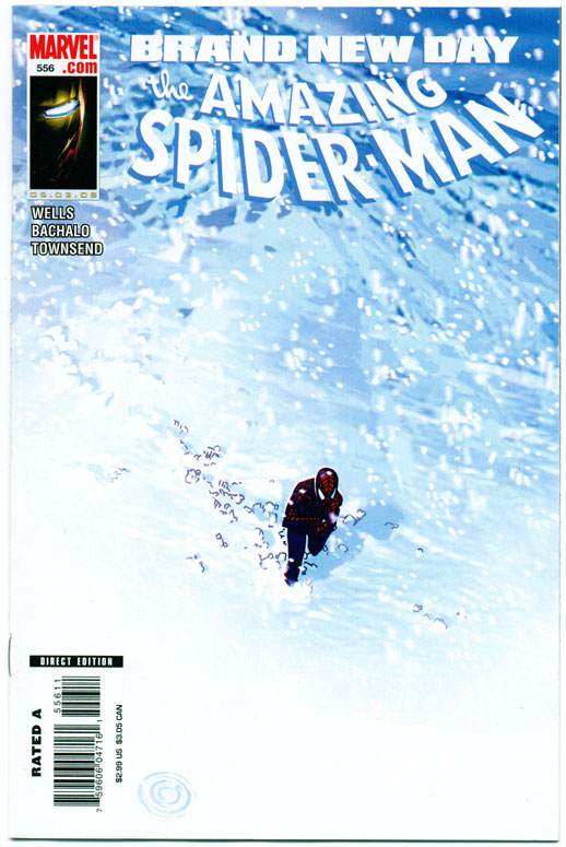 AMAZING SPIDER-MAN#556